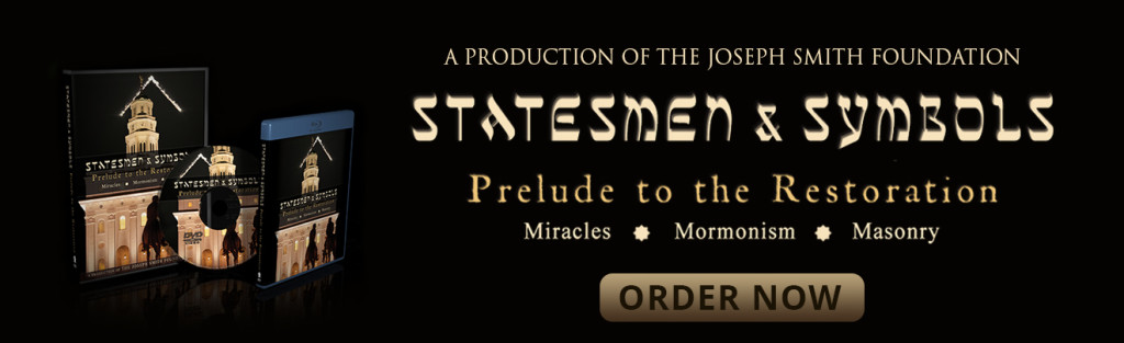 """Want to learn more about Joseph Smith's involvement with freemasonry? Watch """"Statesmen & Symbols: Prelude to the Restoration"""" today!"""