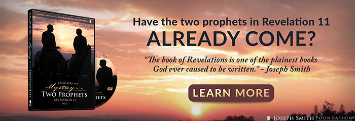"""""""Have the two prophets in Revelation 11 already come?"""" Watch """"Unlocking the Mystery of the Two Prophets"""" today!"""