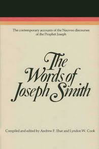 """""""Words of Joseph Smith."""" Recommended books by LDS Answers"""